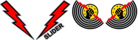 Top Gun Slider Helmet Decal / Sticker Set 01