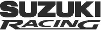 Suzuki Racing Decal / Sticker 03