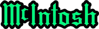 McIntosh Decal / Sticker 03