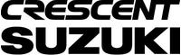 Crescent Suzuki Decal / Sticker 01