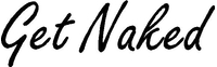 Get Naked Decal / Sticker 02
