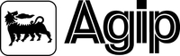 Agip Decal / Sticker