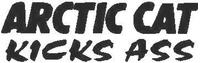 Arctic Cat Kicks Ass Decal / Sticker