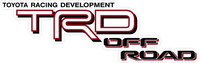 TRD Off Road Decal / Sticker 19