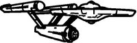 Star Trek Decal / Sticker 01