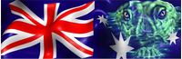 Australian Flag Decal / Sticker 03