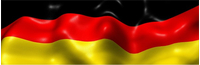 German Flag Decal / Sticker 04