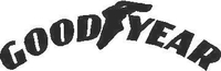 Goodyear Decal / Sticker 04