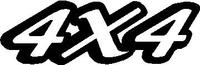 Z 4x4 Decal / Sticker Design 1