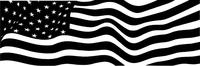 American Flag Decal / Sticker 63