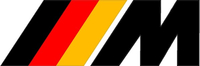 BMW M German Flag Decal / Sticker 34