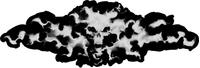 True Fire Mephisto Decal / Sticker 03