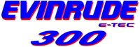 Evinrude E-TEC 300 Decal / Sticker 11