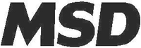 MSD Ignition Decal / Sticker 03