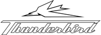 Triumph Thunderbird Decal / Sticker 34