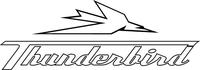 Triumph Thunderbird Decal / Sticker 61