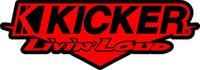Kicker Livin Loud Decal / Sticker 02