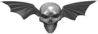 Bat Wing Skull Decal / Sticker
