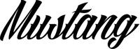 Mustang Decal / Sticker 03