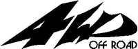 Z 4WD Off Road Decal / Sticker