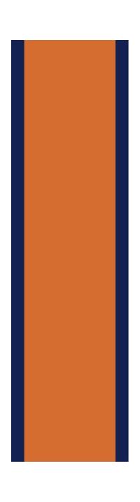 z 12 Inch Gulf Racing Stripe Decal / Sticker 03