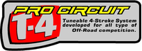Pro Circuit T-4 Decal / Sticker 01