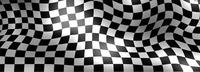 Checkered Flag Decal / Sticker 108