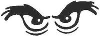 Eyes Decal / Sticker 01