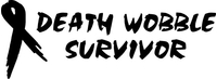 Death Wobble Survivor Decal / Sticker 02