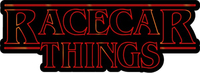 Racecar Things Decal / Sticker 03