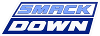WWE Smack Down Decal / Sticker 03