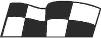 Checkered Flag Decal / Sticker 17