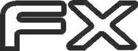 Hyundai FX Decal / Sticker 01