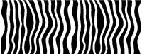 Zebra Stripe Decal / Sticker 02