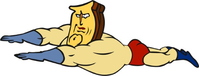 Powdered Toast Man Decal / Sticker 02