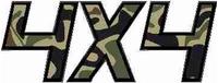 Z Camouflage 4x4 Decal / Sticker 21