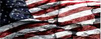 American Flag Rocks Decal / Sticker 37