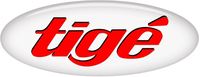 Simulated 3D Domed Tige Decal / Sticker 14