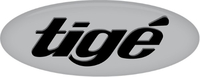 Simulated 3D Domed Tige Decal / Sticker 20