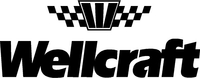 Wellcraft Checkered Flag Decal / Sticker 03