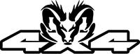 Z 4x4 Ram Decal / Sticker 36