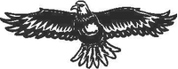 Eagle Decal / Sticker 01