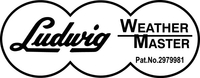 Ludwig Weather Master Decal / Sticker 05