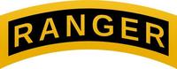 Ranger Rocker Decal / Sticker 01