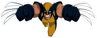 X-men Wolverine Decal / Sticker 01