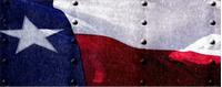 Texas Flag Decal / Sticker 02