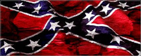 Confederate Flag Rock Decal / Sticker