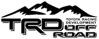 TRD Off Road Decal / Sticker 27