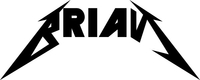 Brian Metallica Style Decal / Sticker 01