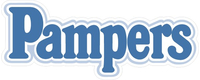 Pampers Decal / Sticker 01